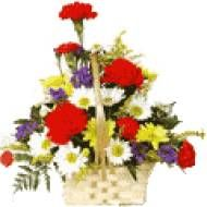 Mix flower basket for Pune delivery. You get fresh flowers with us. Secured online payments.  Visit our site : www.puneflowersdelivery.com/flowers/mixed-flowers-delivery.html
