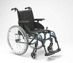 Nueva silla de ruedas ACTION 3 NG de INVACARE.(Esta silla sustituye la vieja Action 3).La ACTION 3 NG es muy ligera con el chasis de aluminio, plegable por cruceta que asegura unos resultados de desplazamiento óptimos.