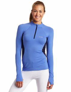 Columbia Women's Baselayer Long Sleeve 1/2 Zip, « ShirtAdd.com – Perfect Fit Shirts