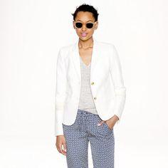 J.Crew - Schoolboy blazer in linen