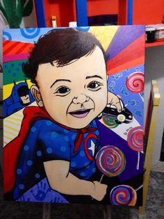 Baby alegre art Gil Motta