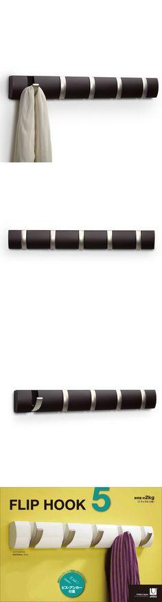 Hooks and Hangers 36024: Modern Wall Key Holder Rack Flip Hook Jacket Towel Hanger Bathroom Stainless -> BUY IT NOW ONLY: $35.9 on eBay!