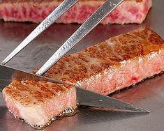 Kobe Beef! Look at the damn marble!! OMG  #kobe_beef