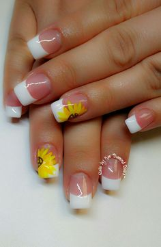 60 Best French Acrylic Nails Ideas For Spring Time French Nails French Acrylic Nails, Gel Acrylic Nails, Summer Acrylic Nails, French Tip Nails, Acrylic Nail Designs, Spring Nails, Summer Nails, Nail Art Designs, Gel Nails