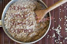 Steel cut oat recipes
