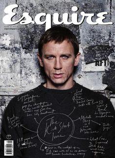 ESQUIRE SINGAPORE   Daniel Craig