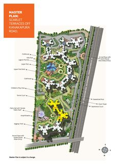 Purva Scarlet Terraces Layoutplan  http://www.bangalore5.com/loacation.php?id=2024