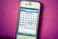 Bruidsfotografie Oss, iPhone bruiloft kalender, #bruidsfotograaf Dario Endara