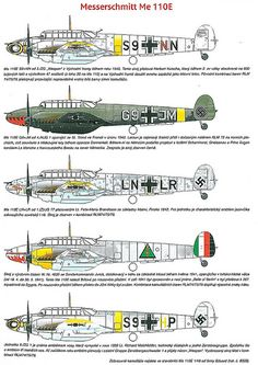 Messerschmitt Bf 110 variants