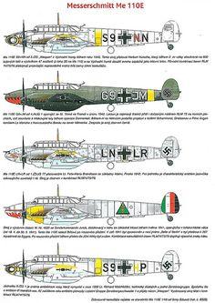 Messerschmitt Bf 110 variants