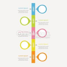 ベクトルアート : スケジュール垂直インフォグラフィックに placemarks とテキストを表示します。テンプレートます。フラットデザインです。