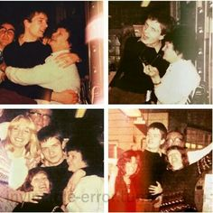 Ian Curtis at a works party, 1977 /Joy Division Central Ian Curtis, Natalie Curtis, Joy Division, Salford, Punk Rock, Kathleen Hanna, Office Christmas Party, Xmas Party, Rock News
