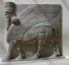 Lamassus de Khorsabad (Sargón II)