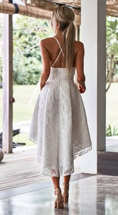 A-Line Spaghetti Straps White Lace High Low Homecoming Dress with Pockets fashion spaghetti strap burgundy lace homecoming dress, elegant high low dress with pockets, beautiful graduation dress with pockets Prom Dresses With Pockets, Lace Homecoming Dresses, Wedding Dress With Pockets, Grad Dresses, Short Dresses, High Low Wedding Dresses, Summer Dresses, Elegant Dresses For Women, White Lace