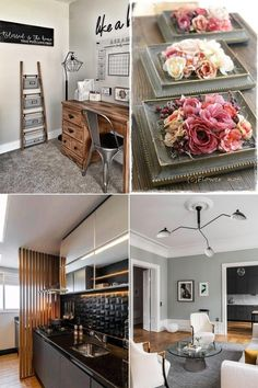 Home office decor has gained a lot of momentum nowadays so why not make the best of it with these farmhouse home office decor ideas.