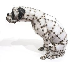 kidd_sittingdog - http://www.dailyartmuse.com/2011/03/21/hannah-kidd-corrugated-tin-steel-rod-sculpture/#