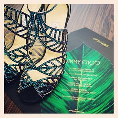 Our Sloane Street store has been transformed into a jungle for tonight's event by jimmychoo