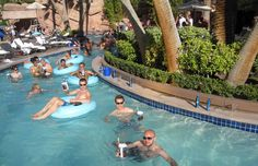 pool at the MGM Grand, Las Vegas, NV