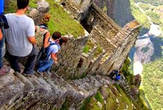 Climb The Heavenly Stairs : Most dangerous hikes on the planet