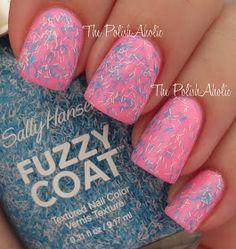The PolishAholic: Sally Hansen Fuzzy Coat Swatches & Review