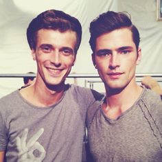 Clement Chabernaud and Sean O'Pry by Christian Rios
