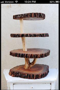 @ Julie. Cupcake stand!