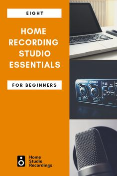 Home Recording Studio Setup - This home recording studio equipment list will help you find the right equipment for your home studio setup or home music studio setup. Home Studio Setup, Music Studio Room, Studio Desk, Home Recording Studio Equipment, Start Youtube Channel, Home Music, Music Life, Recording Studio Microphone, Digital Audio Workstation