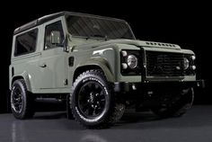 Land Rover Defender... I'd add a snorkel and some dirt... and never wash it!