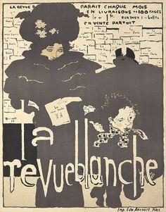 Poster by Pierre Bonnard (1867-1947), 1894, La revue blanche, Imp. Ancourt, Paris.