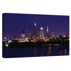 'Cleveland 16' by Cody York Photographic Print on Wrapped Canvas