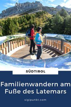 Wandern in den Dolomiten hat oft den Beigeschmack von hochalpinen Bergtouren inmitten schroffer Felsen. All dies kann man in Südtirol erleben, muss man aber nicht. Denn Südtirol steht auch für gemütliche Almwanderungen, Panoramawege für Genießer und auch Themenwege für Familien, wie im Erlebnisreich Latemarium im Eggental.  #eggental #enjoyeggental #carezzadolomites #dolomiti #dolomiten #südtirol #wanderninsüdtirol #trentino #latemar #latemarium #obereggen #oberholz #welschnofen #carezza… Reisen In Europa, Blog, Alps, European Travel, Blogging