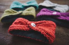 How To: Lining Knitted Ear Warmers with Fleece