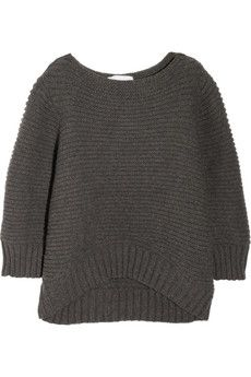 CHALAYAN  Merino wool and cashmere-blend sweater