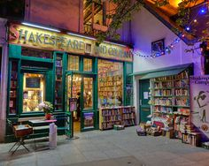 Shakespeare and Company photograph  Paris bookstore. Been to Paris and saw this store but didn't go in