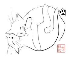 Oeuvres chats de l'artiste Ginoux-Duvivier