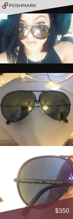 23d4ab4f23e9 NEW Porsche Design Sunglasses NEW Porsche Sunglasses comes with brown  interchangeable lenses