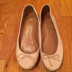 GAP Nude Ballet Flats  Classic GAP ballet flats. Only worn a couple times , in good condition. Must have in every closet, they go great with so many outfits! GAP Shoes Flats & Loafers