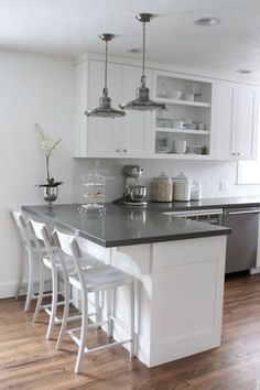 Kitchen Cabinet Types - CLICK THE PICTURE for Lots of Kitchen Ideas. #kitchencabinets #kitchenorganization