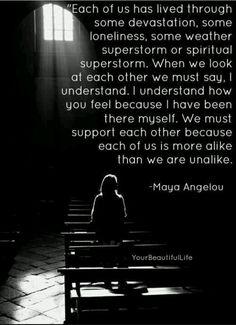 Maya Angelou and Understanding