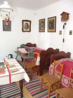 Country Cottages, Art And Architecture, Country Life, Folk Art, Table, Furniture, Home Decor, Dune, Terrace