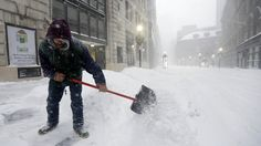 How shoveling snow can increase your risk of heart attack