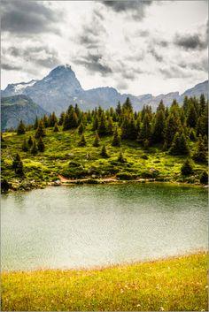 Alp Flix, Graubünden, Switzerland