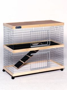WELCOME HOME! Many pet homes are small and cramped. The Bunny Abode products provide ample space for your pet to relax and play in. Larger than nearly all other products on the market, this home provides eight square feet of living space per level....