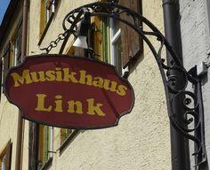 Kaufbeuren - Ludwigstrasze - Musikhaus Link