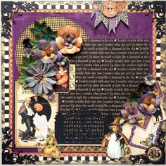 A brilliant layout by Maria using Place in Time and Steampunk Spells! Gorgeous #graphic45 #layouts