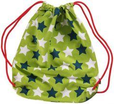 Maxomorra Gym Bag Stars Green