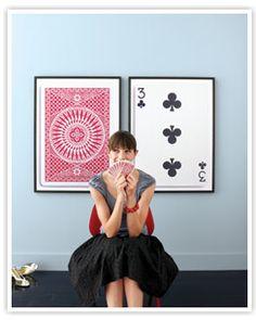 //Frugal Life Project: DIY: Enlarging Small Mementos to Make Large Works of Art!
