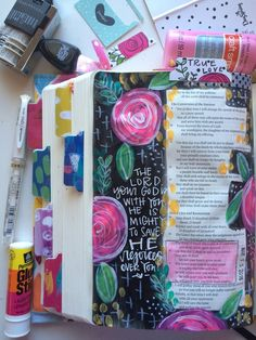 Favorite Bible Journaling Supplies ((WITH LINKS)) and my New Kit!!! — Valerie Wieners Art