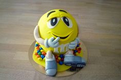 M&M cake  by Janka