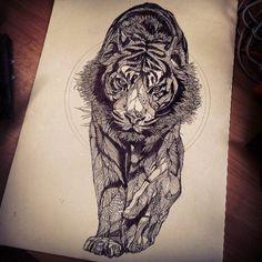 Big Cat by Luke Dixon (The Bear Hug Co)